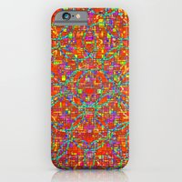 iPhone & iPod Case featuring Verre Colore Pattern by Peter Gross