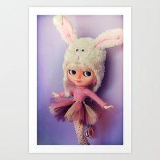 Funny Blythe doll Art Print