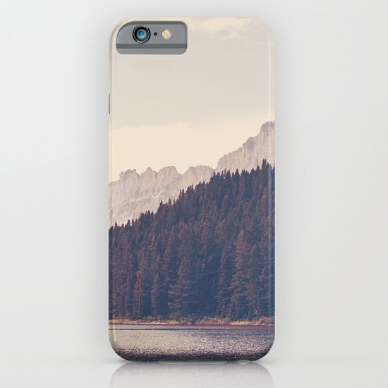 Morning Mountain Lake iPhone & iPod Case
