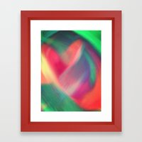 Enlightened Heart Framed Art Print