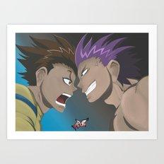 Kenichi vs Odin Art Print