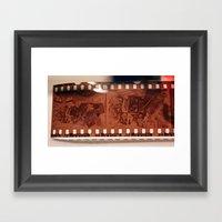Negatory Framed Art Print