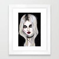 Taylor Momsen #rockrules Framed Art Print