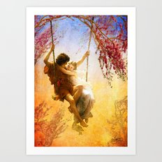 The Spring of Our Love Art Print