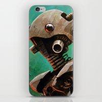 Twin #2 Robot iPhone & iPod Skin