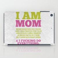 I am Mom iPad Case