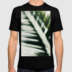 palm impressions Black Mens Fitted Tee SMALL