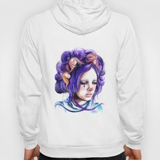 Dolls in her hair, Forest of Dolls Collection Hoody