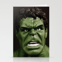 hulk Stationery Cards featuring Hulk by Beastie Toyz