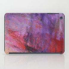 Red Vastness iPad Case