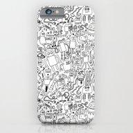 Infinity Robots Black & … iPhone 6 Slim Case