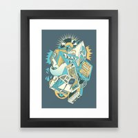 Stereochromatic Framed Art Print