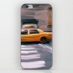 Taxi Cab. iPhone & iPod Skin