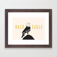 Bald Eagle Framed Art Print