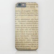 Pride and Prejudice  Vintage Mr. Darcy Proposal by Jane Austen   iPhone 6s Slim Case