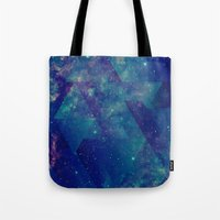 Static Waves Tote Bag