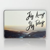 Fly Away Fly Today Laptop & iPad Skin