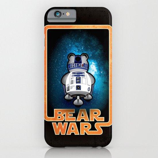 Bear Wars - GRRR2D2 iPhone & iPod Case