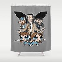 Hell & Back Boys Shower Curtain