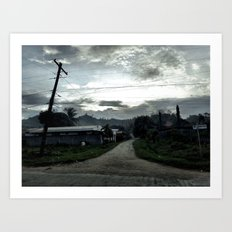 Path To Nowhere Art Print