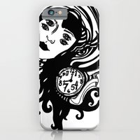 iPhone & iPod Case featuring Alice down the Rabbit Hole by Saralynn