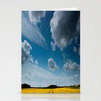 Blue Sky Thinking Stationery Cards