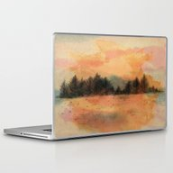 Horizonte Distante Laptop & iPad Skin