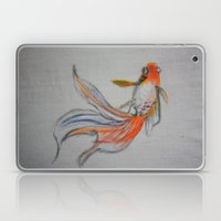 Goldfish Pond (close up #10) Laptop & iPad Skin