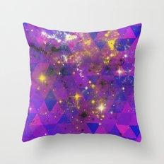 Geometric Universe Throw Pillow