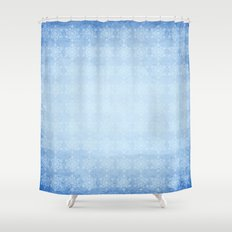 Baby, It's Cold Outside! Shower Curtain
