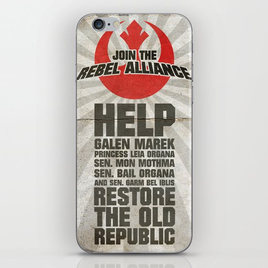 Join the Rebel Alliance iPhone & iPod Skin