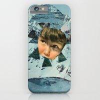 Child in the Wild Snow iPhone 6 Slim Case