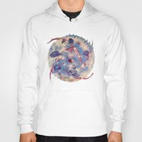 Spiral Stare Face Hoody