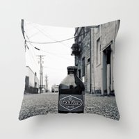 Alleyway Session Throw Pillow