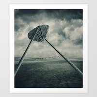 Go fly a kite Art Print