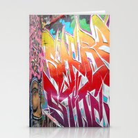 graffiti Stationery Cards