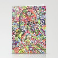 Basura Cerebro Stationery Cards