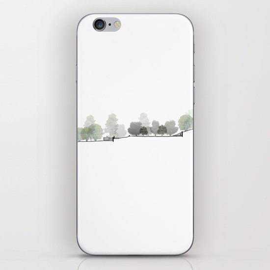 Landscape Section iPhone & iPod Skin