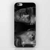 Rick and The Governor iPhone & iPod Skin