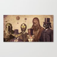 Victorian Wars  Canvas Print