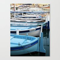 Boats Of Cassis, Cote D'… Canvas Print