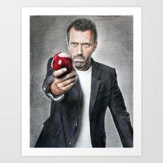 House MD - Hugh Laurie Art Print