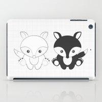 Twins Fox iPad Case