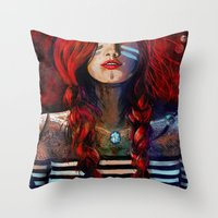 NEIRED (TWO) Throw Pillow