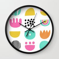 SIMPLE GEOMETRIC 001 Wall Clock