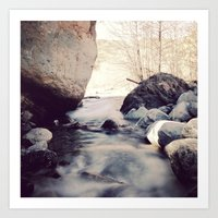 Peace Creek Art Print