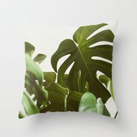 Verdure #5 Throw Pillow