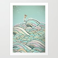 Art Print featuring Joy by jewelwing