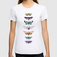 Techno-Moth Collection Womens Fitted Tee Ash Grey SMALL