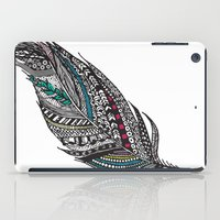 Single Aztec Feather  iPad Case